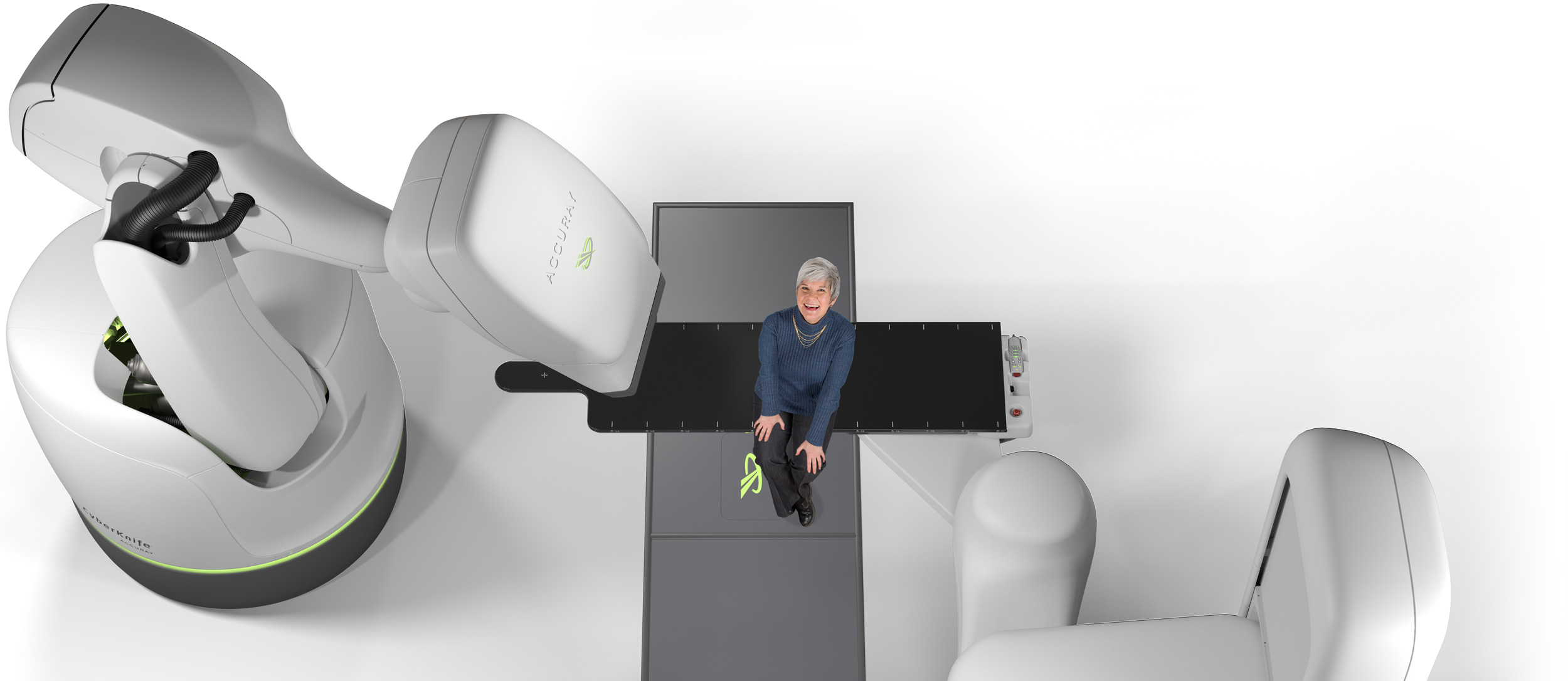Radiotherapy treatment with CyberKnife is approved many types of cancer